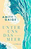 Unter uns das Meer: Roman von Amity Gaige