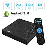 Android TV BOX, T95 MAX Android 9.0 2GB RAM/16GB ROM Quad-Core Support 2.4Ghz