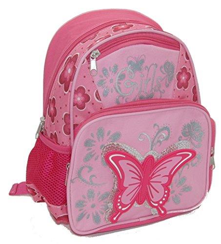 STEFANO Kinder Reisegepäck Schmetterling pink rosa -präsentiert von RabamtaGO- (Rucksack)