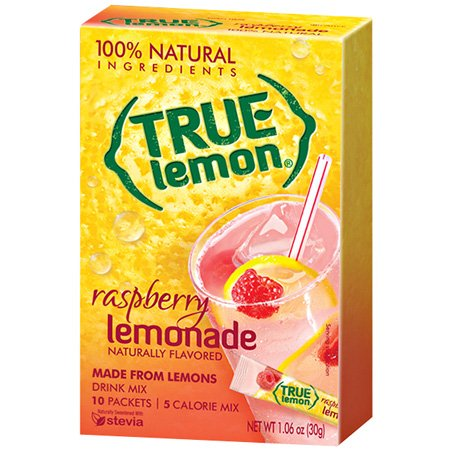 100% Natural True Max 55% OFF Lemon-ade with Raspberry 10 Ct 3 of Classic Pack by