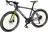 Benotto RRUTRI701648AZ Bicicleta de Aluminio Rodada R700C, Unisex, 16 Velocidades