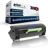 Print-Klex - Cartucho de tóner compatible con Lexmark MX317dn MX417de MX517de MX617de 51B2000, color negro