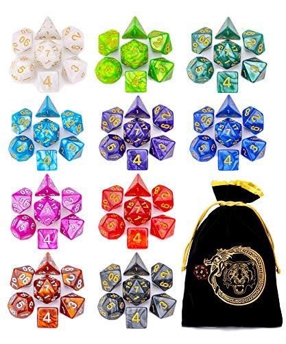DND Dice Set - CiaraQ Polyhedral Dice Set (170...