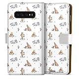 DeinDesign Étui Compatible avec Samsung Galaxy S10 Plus Étui Folio Étui magnétique Winnie...