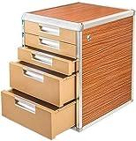 HYL Cajoneras Mueble Archivador Armarios de almacenamiento de archivos de bloqueo Oficina de información de fondo cajones de entrega Fecha grados Fold pérdida de archivos Inicio Muebles de Oficina