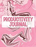 Productivity Journal: Time Management Journal Agenda Daily Goal Setting Weekly Daily Student Academic Planning Daily Planner Growth Tracker Workbook