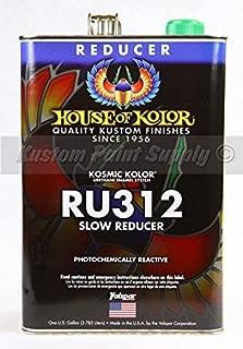 House of Kolor 1 GALLON RU312/RU-312 SLOW REDUCER-PAINT