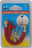 Meilleures ventes - Aiguilles (3) Et Raccord à Pompe, pour Ballon Embouts De Gonflage Football, Basketball, Rugby,Handball