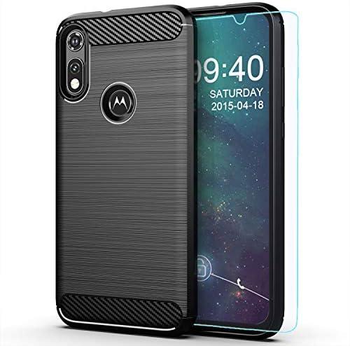 Moto E Phone case Motorola E case with HD Screen Protector M MAIKEZI Soft TPU Slim Fashion Non product image