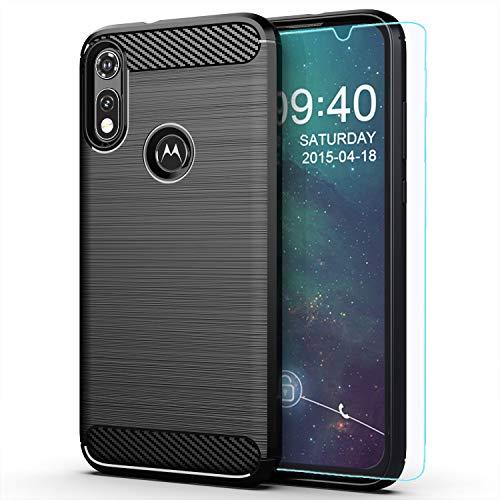 Moto E Phone case,Motorola E case,with HD Screen Protector,M MAIKEZI Soft TPU Slim Fashion Non-Slip Protective Phone Case Cover for Motorola Moto E...
