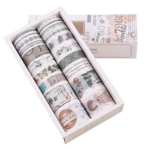Lychii cinta adhesiva decorativa colección Maletín de maquillaje Bullet para DIY...