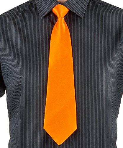 Party Pro- Cravate, Unisex-Adult, 3334, Orange, Taille Unique