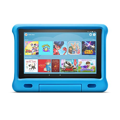 Kid-Proof Case for Fire HD 10 tablet | Compatible with 9th generation tablet (2019 release), blue
