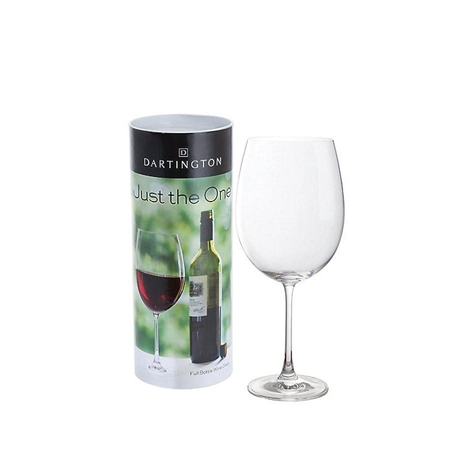 爬虫類税金不適(Wine Glass) - Dartington Crystal 257 mm 85 cl Just the One Wine Glass Containing