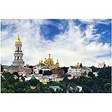 FGVB Ukraine Tempel Landschaften Poster Leinwand Wandkunst