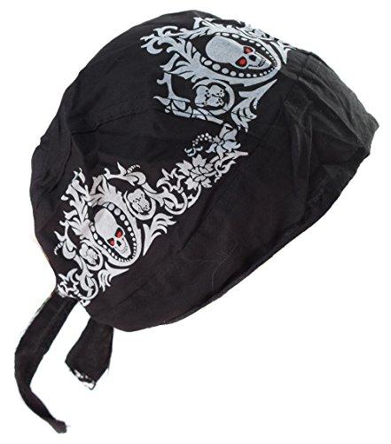 Bandana tete de mort skull call of duty serre tete homme femme biker moto paintball airsoft chasse peche casque