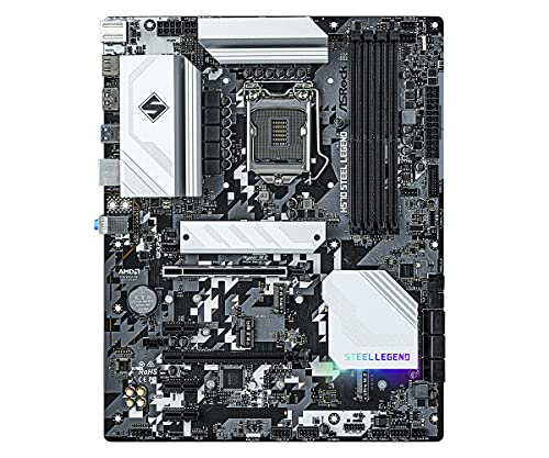 ASRock H570 Steel Legend Motherboard (ATX, LGA1200-Sockel, H570)