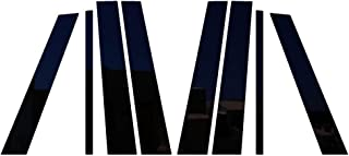 Ferreus Industries Piano Black Pillar Post Trim Cover fits: 2007-2014 Ford Edge All Models PIL-047-GB