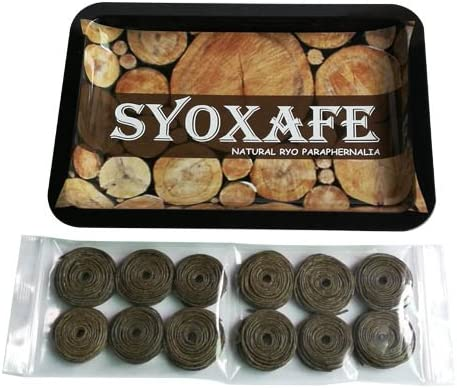 SYOXAFE Organic Hemp Wick Kit Large discharge sale with Price reduction Rolling Metal Tray