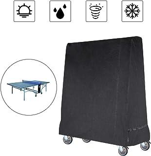 comprar comparacion Gurkkst Funda para Mesa de Ping-Pong Oxford Impermeable Anti-UV Protección Cubierta de Tenis de Mesa (185×70×165cm)