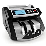 Automatico multi-valuta in contanti banconote denaro Bill contatore Display LCD conta macchina con UV MG Counterfeit Detector for EURO dollari AUD Sterlina