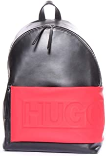Hugo Boss Men's Hero_Backpack 100% Cow skin Back Pack Bags