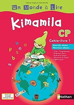 Paperback Un Monde à Lire - Kimamila CP - série rouge - cahier livre 1 (Un monde à lire-S. rouge) (French Edition) [French] Book