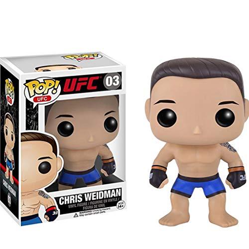 PLL UFC-Chris Weidman POP-Abbildung Modell-Dekorationen verziert Sammlung