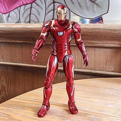 HTDZDX Figura de acción de Spiderman - Vengadores de Capitán América Iron...