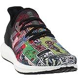 adidas Mens Am4 Marvel 80 Vol. 2 Running Casual Shoes, Black, 9