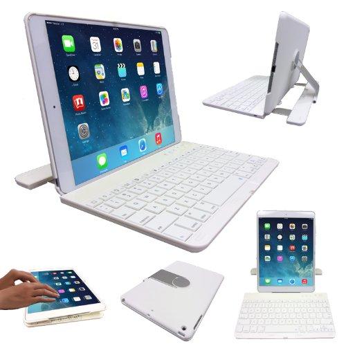 TECHGEAR Apple iPad Air 2 & Air 360 graden roterend Bluetooth draadloos toetsenbord hoesje met standaard
