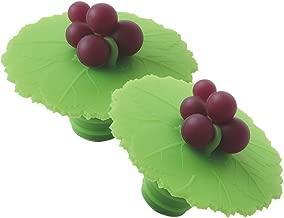 Charles Viancin Grape Leaf Wine Bottle Stopper (Set of 2)