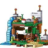 Bloques de construcción My World Sets Building Blocks Village City Tree House Cascada Warhorse Ladrillos Juguetes Para Niños