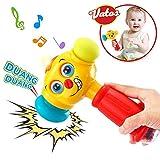 VATOS Bebé Martillo Juguete Bebé Juguetes Ligero y Musical 12 a 18 Meses...