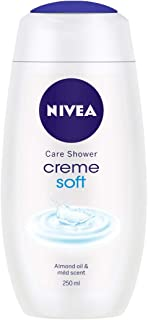 NIVEA Shower Gel, Crème Soft Body Wash, Women, 250ml
