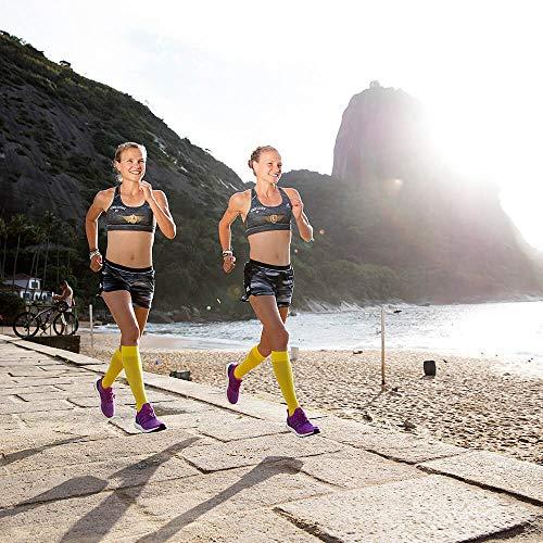 Bauerfeind, 1 Paar Sport-Kompressionsstrümpfe, Für Ausdauersportarten wie Running, Walking, Hiking, Gr. M lang, Weiß, 29480011000032 - 4
