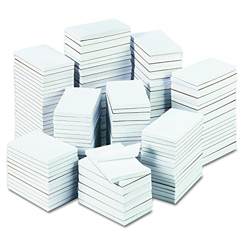 Universal 35623 Bulk Scratch Pads Unruled 3 x 5 White 180 100Sheet Pads/Carton