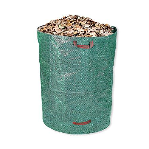Schramm® Gartensack 300L Polypropylen 67 x 85 cm Gewebe PP Gartensäcke Garten Sack Säcke Big Bag Laubabfall