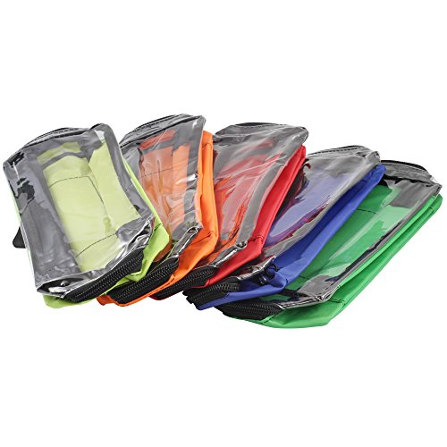 Modultaschen SET Nylon in 5 Farben für Notfallrucksack & Notfalltasche
