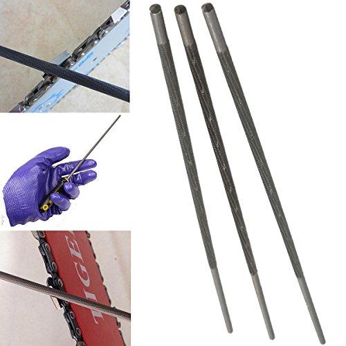EsportsMJJ 3 stuks 4 mm 3/8 inch ronde slijpen ketting zaag zaagkettingen vijlen slijper voor houtbewerking