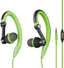 Mucro Sports Headphones Wired Headset Ear Hook Earphones Over Ear Earbuds with..