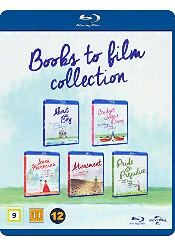 Books to Film 5-Disc Collection ( About a Boy / Bridget Jones's Diary / Anna Karenina / Atonement / Pride & Prejudice ) [ Dänische Import ] (Blu-Ray)
