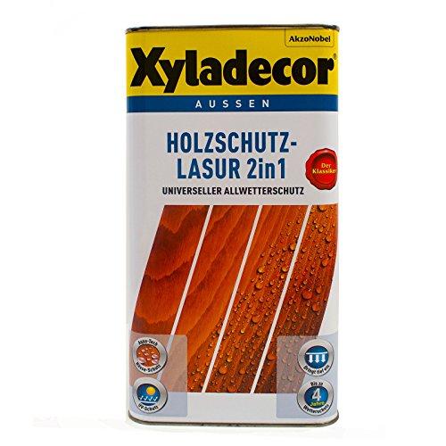 XYLADECOR Holzschutz-Lasur Grau 2,5l - 5255581