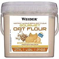 Weider Oat Gourmet - Harina de Avena Integral, fuente de proteína con bajo contenido en azúcares, sabor Galleta María (1.9 kg)