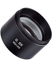 AmScope SM05 0.5X Barlow Lente para microscopios estéreo Serie SM (48 mm)