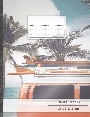 Projektplaner: DIN A4 • 70+ Seiten, Softcover, Register,