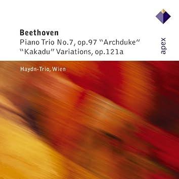 Beethoven : Piano Trio No.11, 'Kakadu Variations' & Piano Trio No.7, 'Archduke'  -  Apex