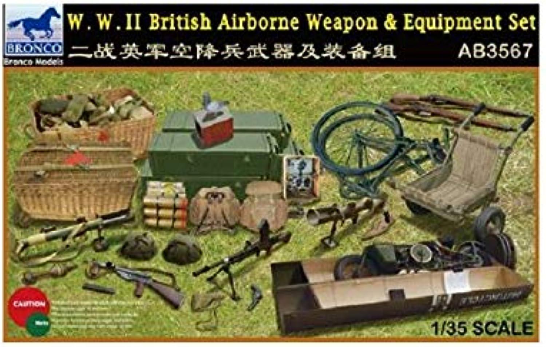 WWII British Airborne Weapon & Equipment Set SW