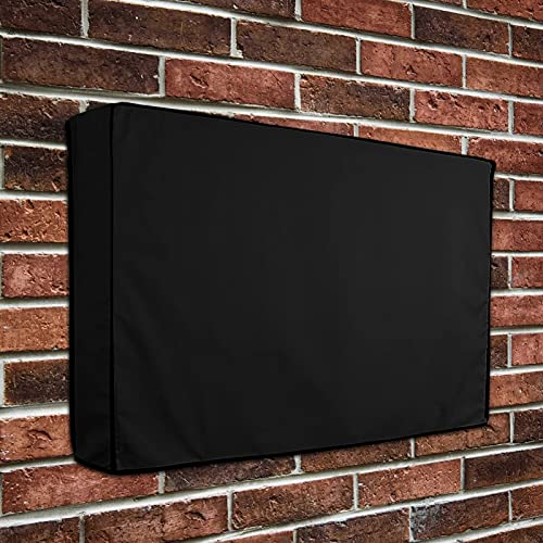 cyg Protector TV Exterior, Funda TV Exterior Cubierta Ropa De Microfibra A Prueba De La Intemperie Cubierta De TV Universal Protector TV Exterior Funda para Televisor (Size : 22-24inch)