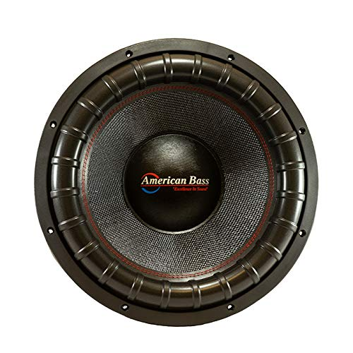 """American Bass Godfather 1522 15"""" Subwoofer 6000 Watts MAX"""